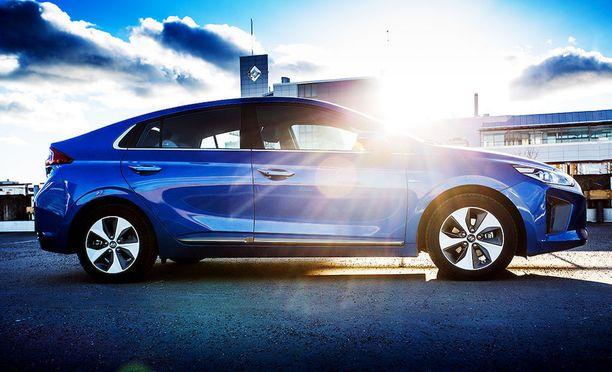 Hyundai Ioniq Electricin testikulutus oli 14,7 kWh/100 km.