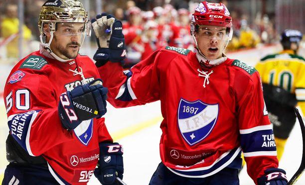 Miro Heiskanen pelasi miehekkään tulokaskauden HIFK:ssa.