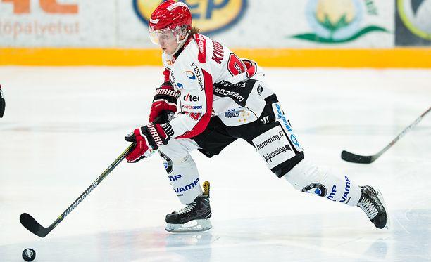 Sportin Joel Kiviranta aloitti kauden kahdella osumalla.