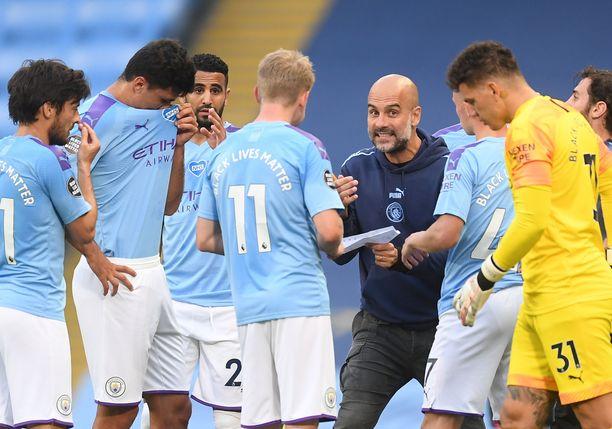 Pep Guardiola haluaa juonia Liverpoolin kumoon, vaikka mestaruus on jo ratkennut.