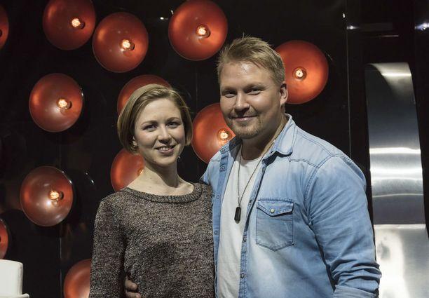 Eliisa ja Seppo viettivät hauskan loman Vanajanlinnassa.