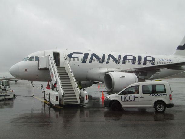 Finnairin matkustajamäärä kasvoi marraskuussa 2,2 prosenttia vertailukaudesta.