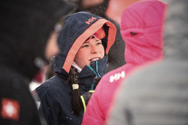 Krista Pärmäkoski oli paras suomalaisnainen Rukan perinteisen sprintissä.