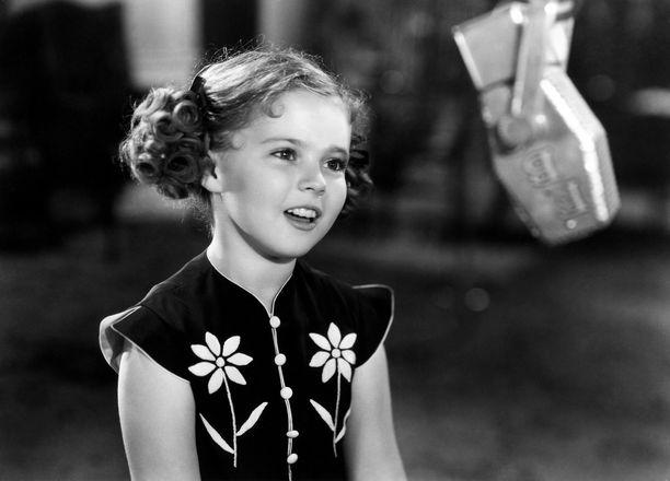 Shirley Temple vuonna 1938.
