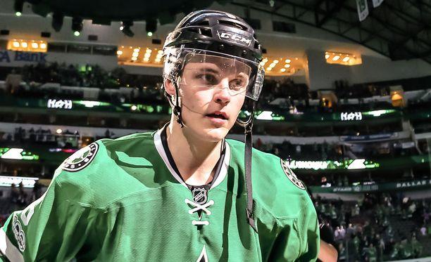 Julius Honka tuo Leijoniin NHL-osaamista.