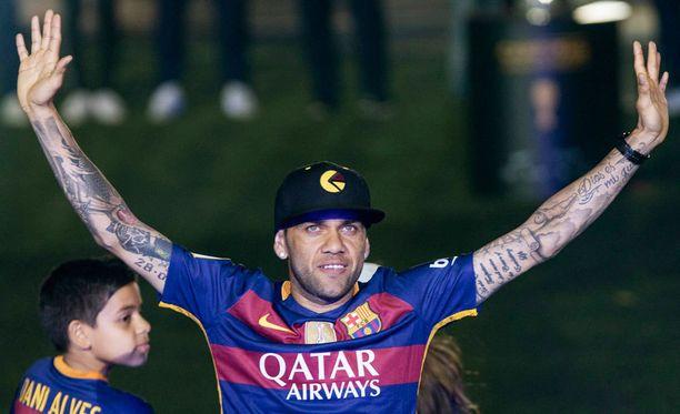 Dani Alves jättää FC Barcelonan.