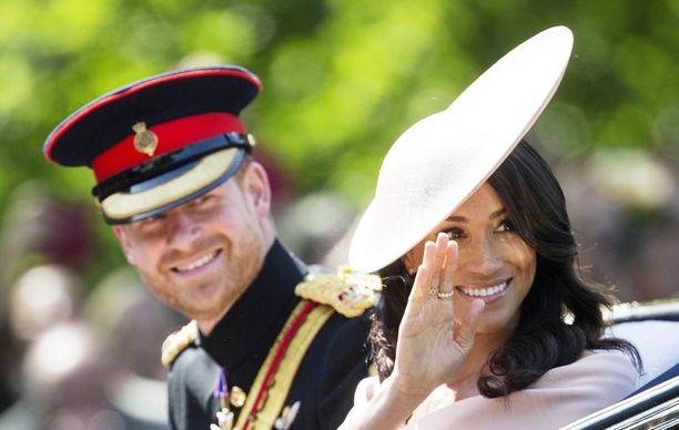 Prinssi Harry ja herttuatar Meghan muuttivat Kanadaan alkuvuodesta 2020.