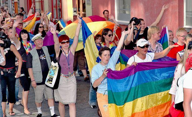 Tallinnassa järjestettiin Pride-kulkueita vuosina 2004-2007.
