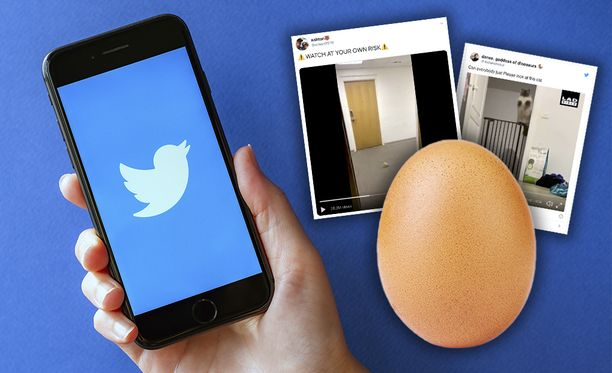 Ennätysmuna nousi Twitterin suosituimmaksi tviitiksi.