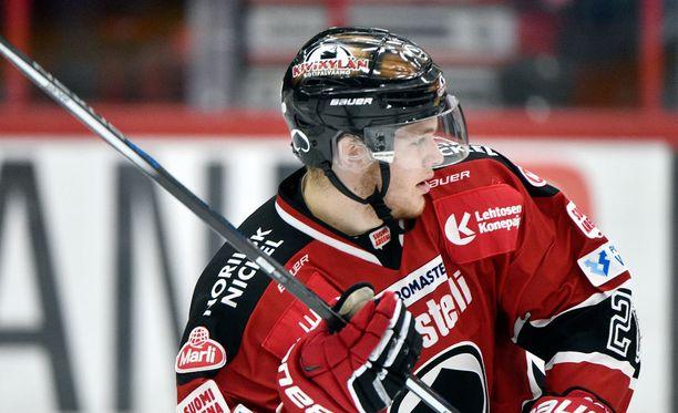 Niko Ojamäki pelaa hienoa syksyä.