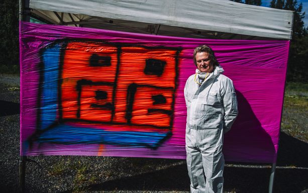 Pepe Willbergistä kuoriutui todellinen graffittitaiteilija.