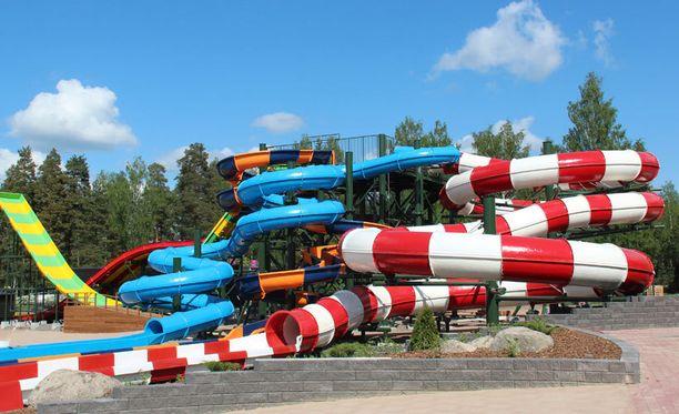 Aquapark-vesipuisto avataan 7. kesäkuuta.