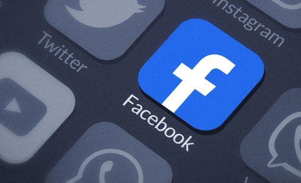 Huijarit yrittävät huijata rahaa Facebookin nimissä. Kuvituskuva.