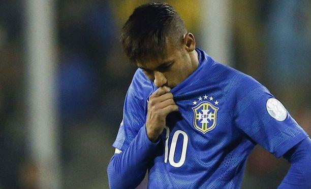 Neymar hölmöili itselleen kahden ottelun pelikiellon.