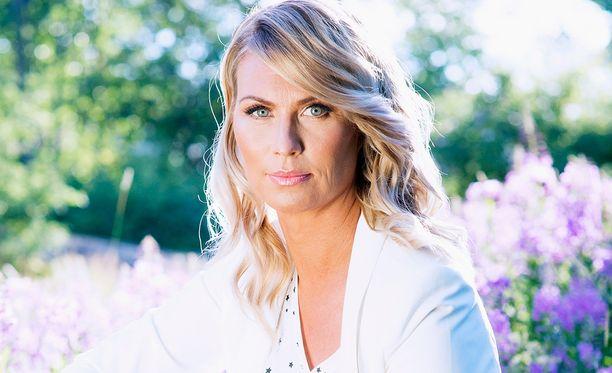 Heidi Suomi tunnetaan urheilun tv-kasvona.