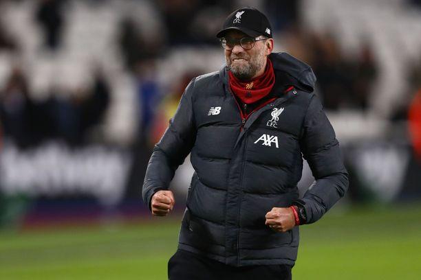 Jürgen Klopp palautti Liverpoolin Englannin ykköseksi 30 vuoden tauon jälkeen.