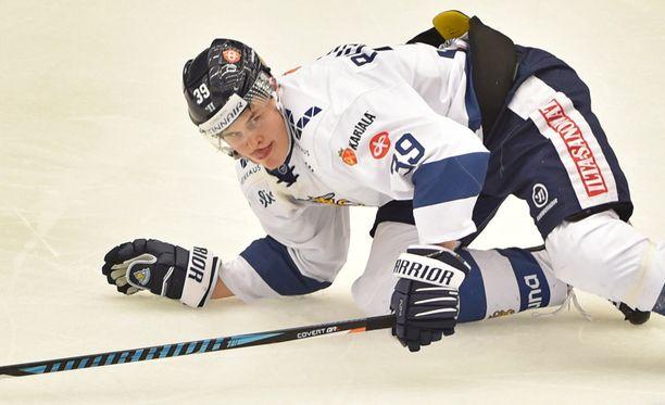 Jesse Puljujärvi kompuroi EHT-peleissä viime viikolla.