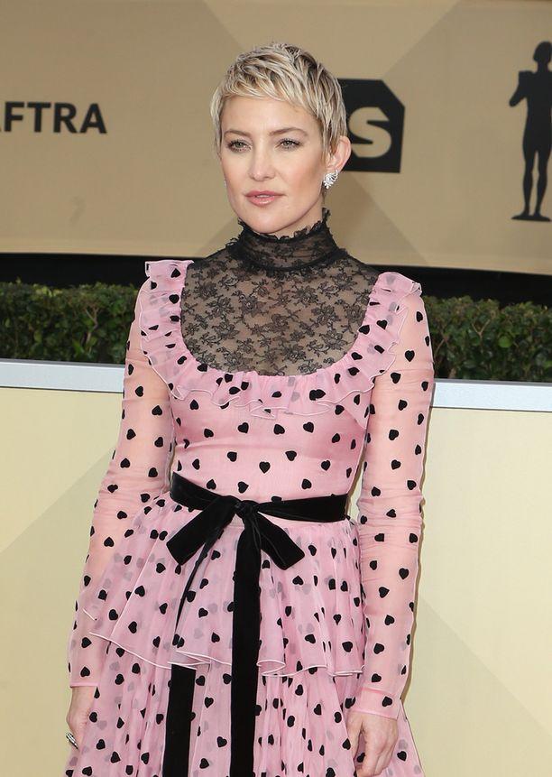 Kate Hudson, 39, tunnetaan esimerkiksi elokuvista Melkein julkkis ja Morsianten sota.