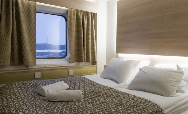 Osa M/S Amorellan entisistä neljän hengen hyteistä on nyt comfort-hyttejä, joissa nukutaan parivuoteessa.