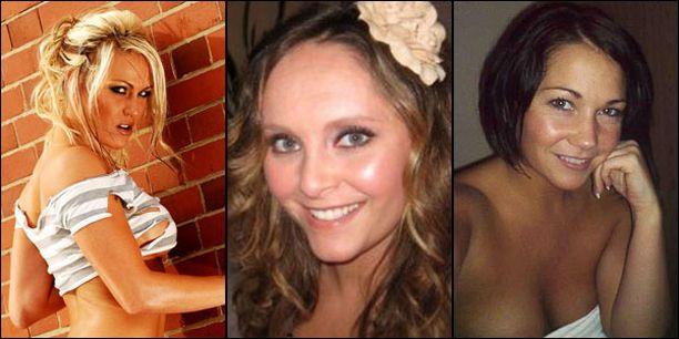 Sonia Wild (vas.) väittää harrastaneensa Ashleyn kanssa tekstariseksiä. Ann Corbitt (kesk.) vietti futarin kanssa yhteisen yön hotellissa Yhdysvalloissa. Alexandra Taylor kertoo puolestaan harrastaneensa Ashleyn kanssa seksiä kuusi vuotta sitten samana iltana, jolloin Ashley ja Cheryl vahvistivat seurustelevansa.