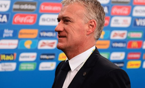 Didier Deschamps ei peitellyt iloaan.