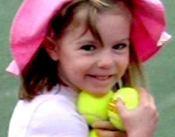 Madeleine McCann katosi vuoden 2007 toukokuussa.