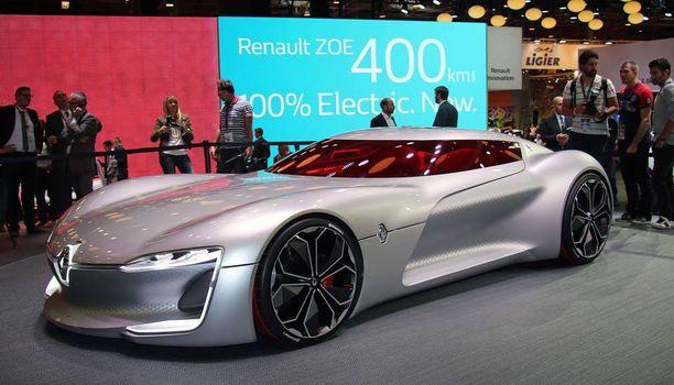 Trezor on oli esillä Pariisin autonäyttelyssä, katto avoinna, mutta kyseessä ei ollut avoauto.