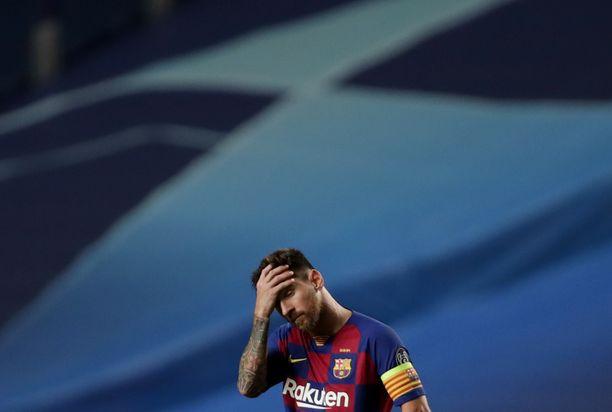 Lionel Messi haluaa lähteä Barcelonasta.