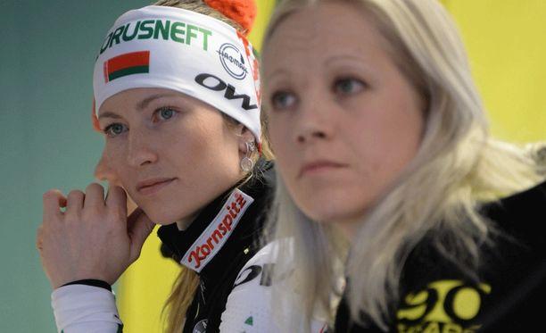 Darja Domratshevan sairastuminen tarkoittaa, että Kaisa Mäkäräinen on entistä suurempi suosikki maailmancupin voittajaksi.