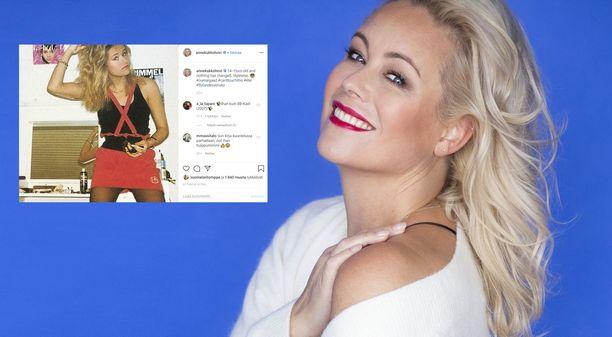 Anne Kukkohovi julkaisi nuoruuskuvan, joka sai hänen seuraajansa ilahtumaan Instagramissa.
