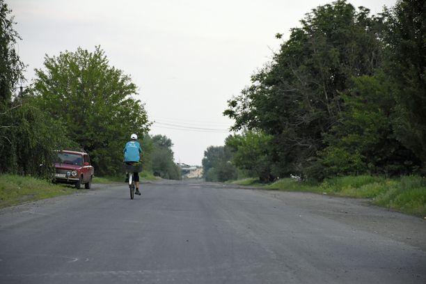 Etulinjan tuntumassa Itä-Ukrainassa asuu vain kourallinen siviilejä. Alue on liian vaarallinen tavalliselle elämälle.