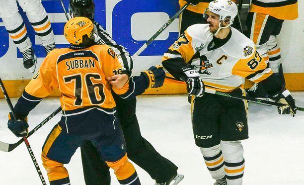 P.K. Subban ja Sidney Crosby ovat joukkueidensa avainpelaajia.