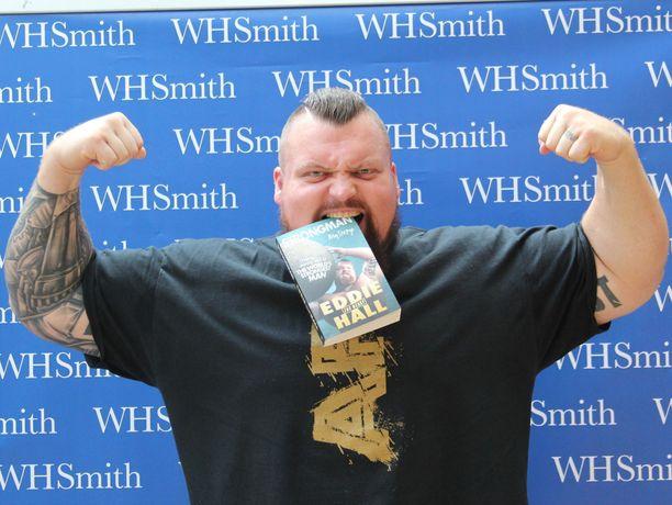 Eddie Hall tunnetaan voimailusta ja hurjista treenivideoistaan.