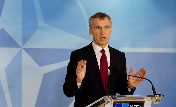 Naton nykyinen pääsihteeri Jens Stoltenberg.