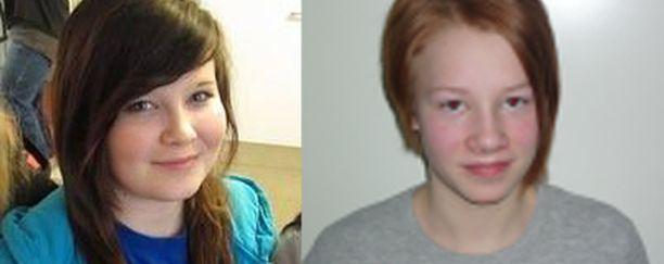 Vasemmalla Katri Korva, oikealla Oona Heiskanen.