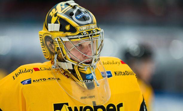 Liigatasolla debytoinut SaiPa-vahti Niclas Westerholm teki Tampereella peräti 41 torjuntaa.