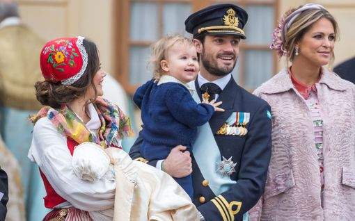 Ruotsin pikkuprinssi Alexander tänään 5 vuotta – katso suloinen kuva