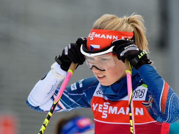 Eva Kristejn Puskarčíkován treenileiri jäi kesken borrelioosin vuoksi.