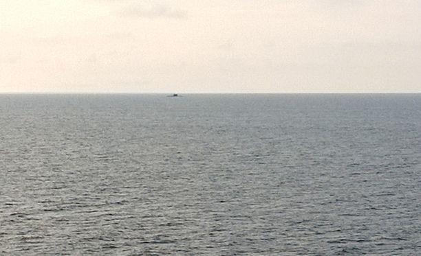 Rajavartiolaitokselta vahvistetaan, että varhain sunnuntaiaamuna Inkoon eteläpuolella havaittu sukellusvene oli kansainvälisillä aluevesillä.