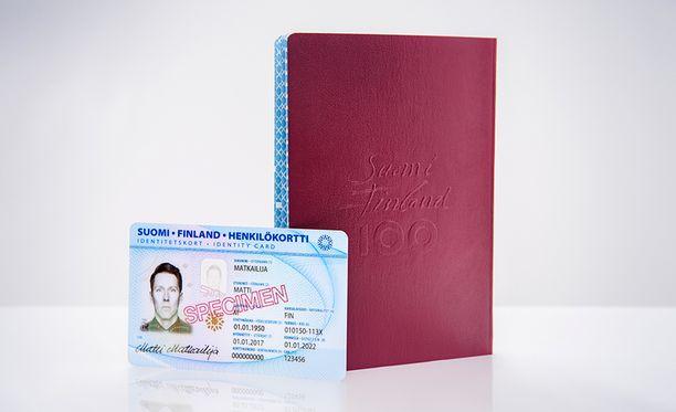 Passien kansien väritys ei muutu.