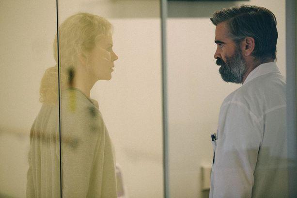 The Killing of a Sacred Deer -elokuvan tähdet Nicole Kidman ja Colin Farrell.