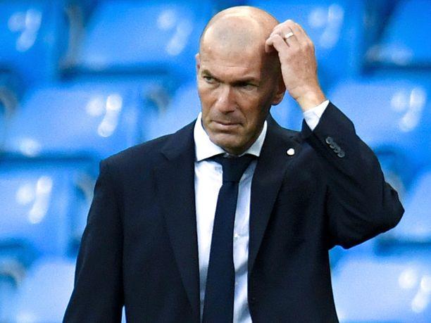 Zinedine Zidane johdattaa tänään Real Madridin Interin kimppuun.