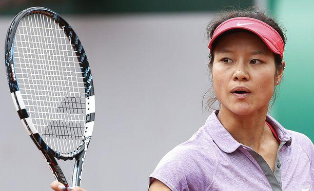 Li Na hävisi heti.