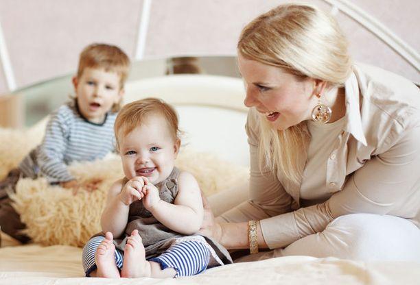 Rassaako elämä kahden pikkulapsen kanssa? Suunnittelemalla siitä selviää.