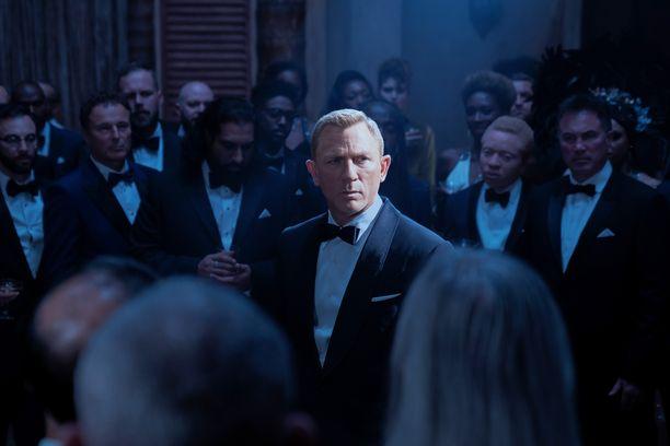 Daniel Craig tekee viimeisen Bond-roolinsa uudessa 007 No Time To Die -elokuvassa.