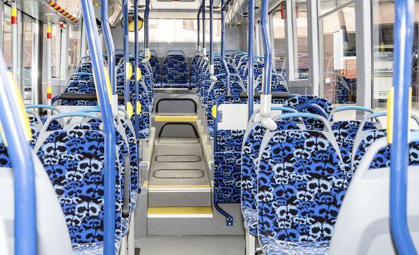 Asiaton bussikuski järkytti matkustajia heinäkuun lopussa Helsingissä. Kuvituskuva.
