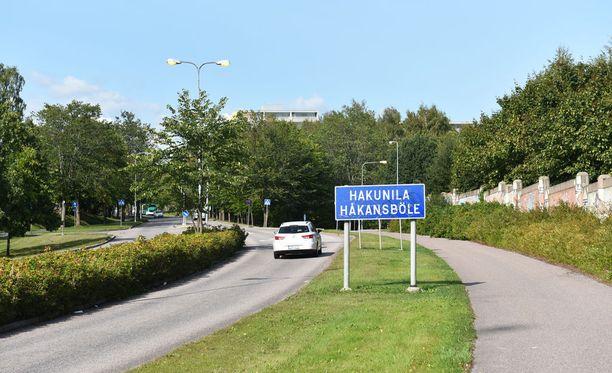 Vantaan Hakunilan asukkaista kolmannes on ulkomaalaistaustaisia.