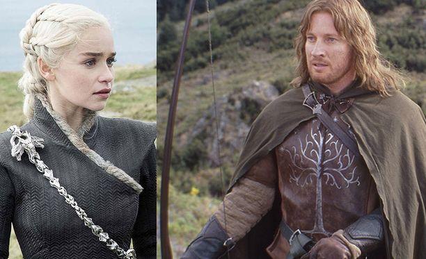 Sekä Emilia Clarke että David Wenman ovat löytäneet Lapin-matkailun.