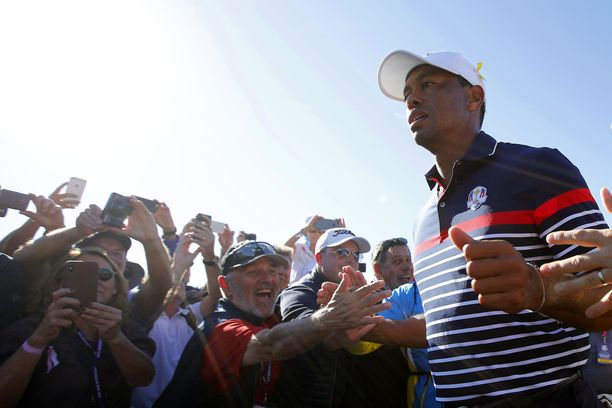 Paluun huipulle tehnyt Tiger Woods on perinteisen kilpailun seuratuin pelaaja.