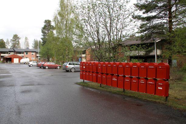 Viisi postilaatikkoa katosi Imatralla yön aikana. Kuvituskuva.